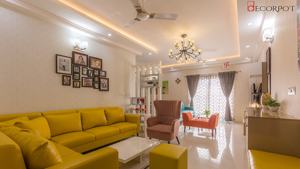 Best home interior designers in Bangalore - HARMONY IN FUSION - A DECORPOT PROJECT
