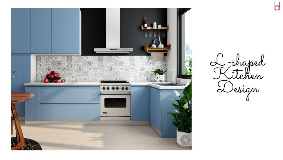 Best home interior designers in Bangalore - Kitchen 101 - L-SHAPED KITCHEN