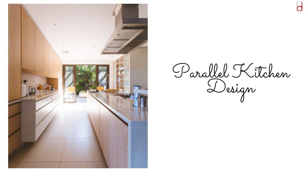 Best home interior designers in Bangalore - KITCHEN 101 - PARALLEL KITCHEN
