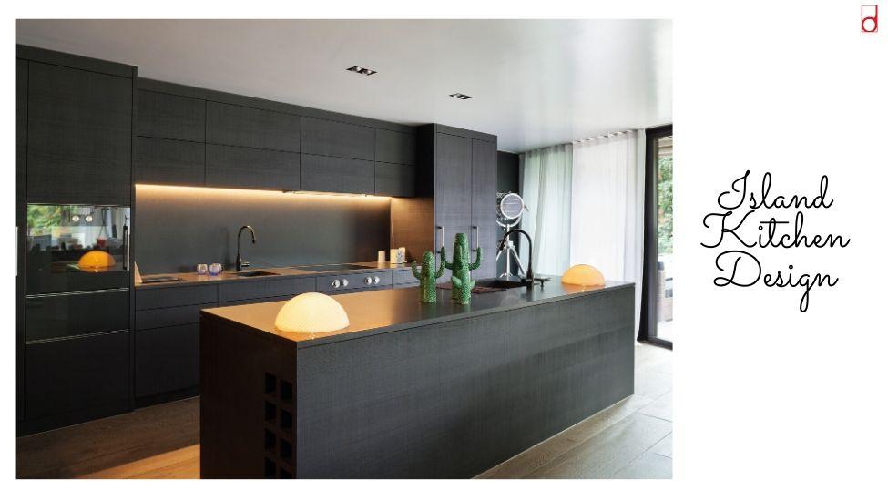Best home interior designers in Bangalore - KITCHEN 101 - ISLAND KITCHEN