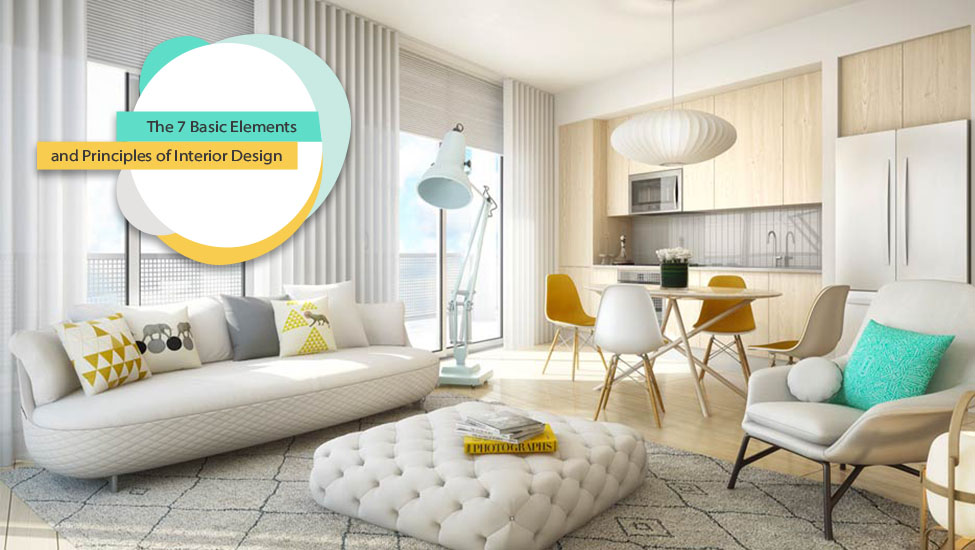 Home interior designer in Bangalore - The 7 Basic Elements and Principles of Interior Design