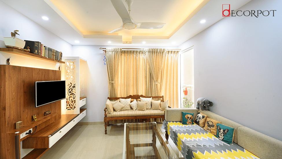 Home interior designer in Bangalore - A DISTINCTIVE BLEND