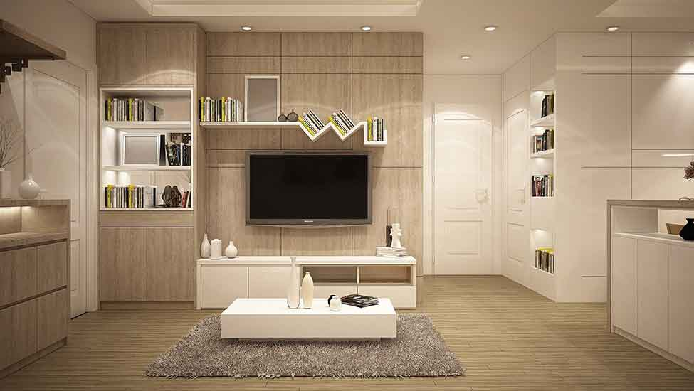 Best home interior designers in Bangalore - 5 creatively mounted wall-shelves