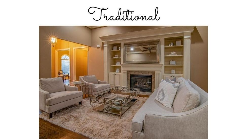 Best home interior designers in Bangalore - Living Room 101 - Traditional Living Room - Create The Best Impression