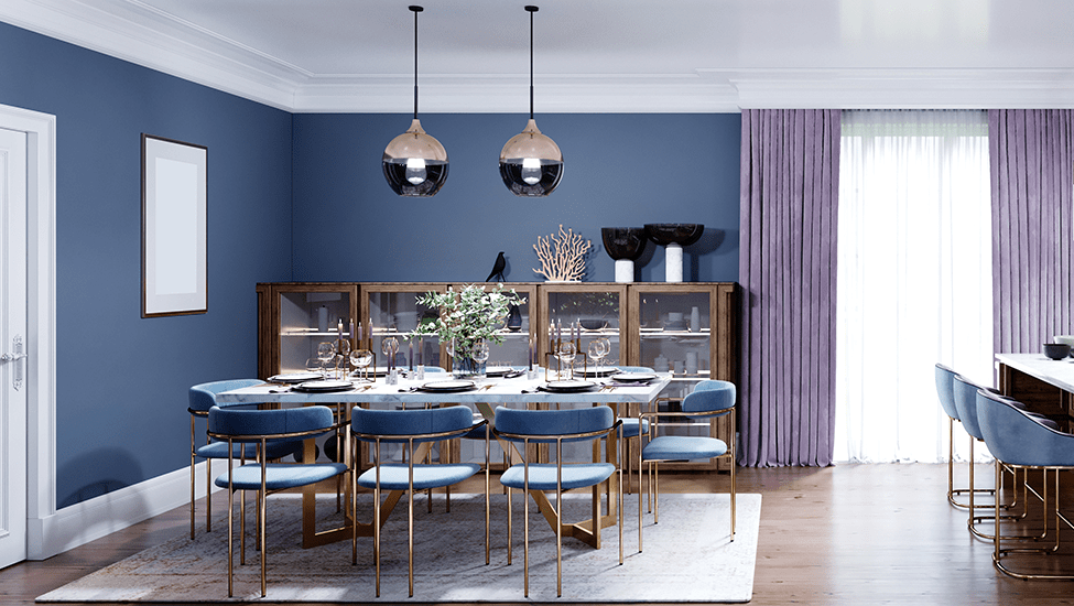 Best home interior designers in Bangalore - COLOR THERAPY - THE DINING ROOM