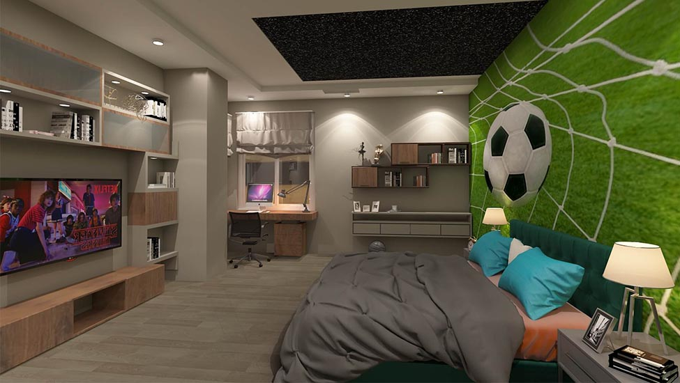 Best home interior designers in Bangalore - Cool and Stylish Teenagers Bedroom Designs and Decor Inspirations