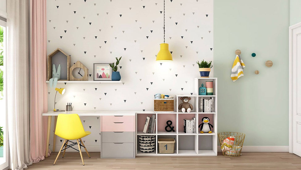 Home interior designer in Bangalore - Six Smart Study Space Design Ideas for Your Kids