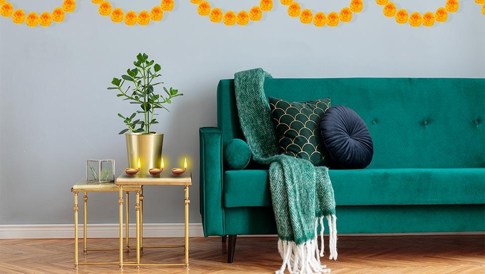 Home interior designer in Bangalore - Dussehra Festive Decoration Ideas for Your Home