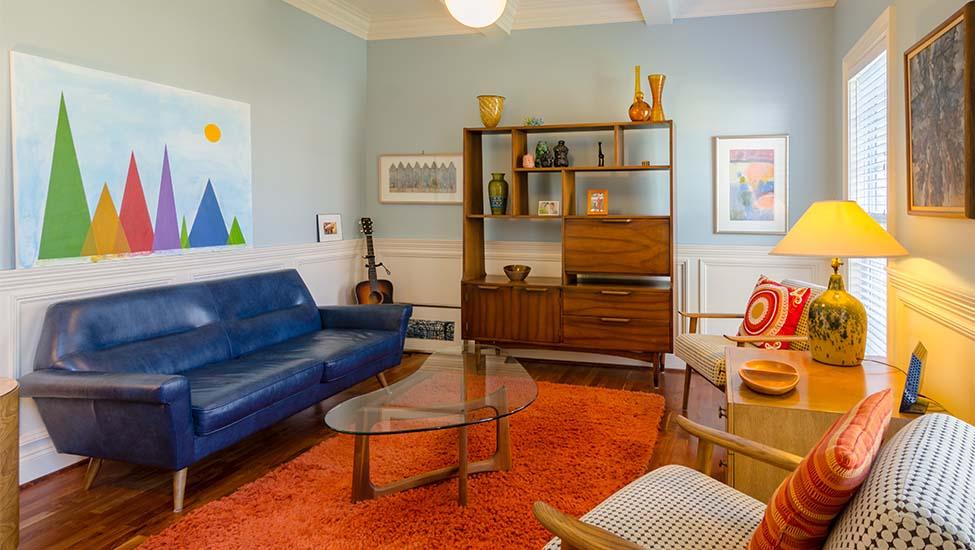 Home interior designer in Bangalore - 9 Easy Design Ideas to Make a Small Living Room Appear Bigger