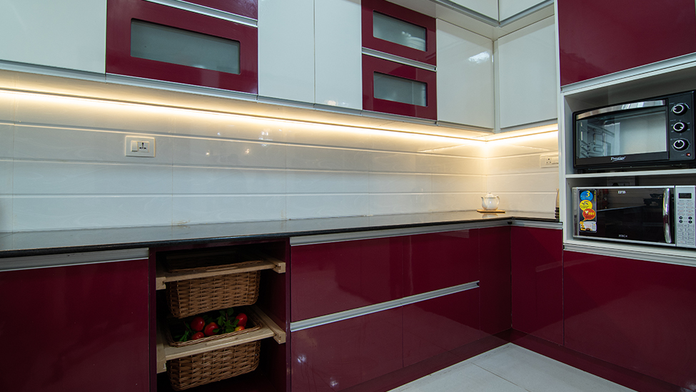 Best home interior designers in Bangalore - Application Of Light In Modular Storages And Units
