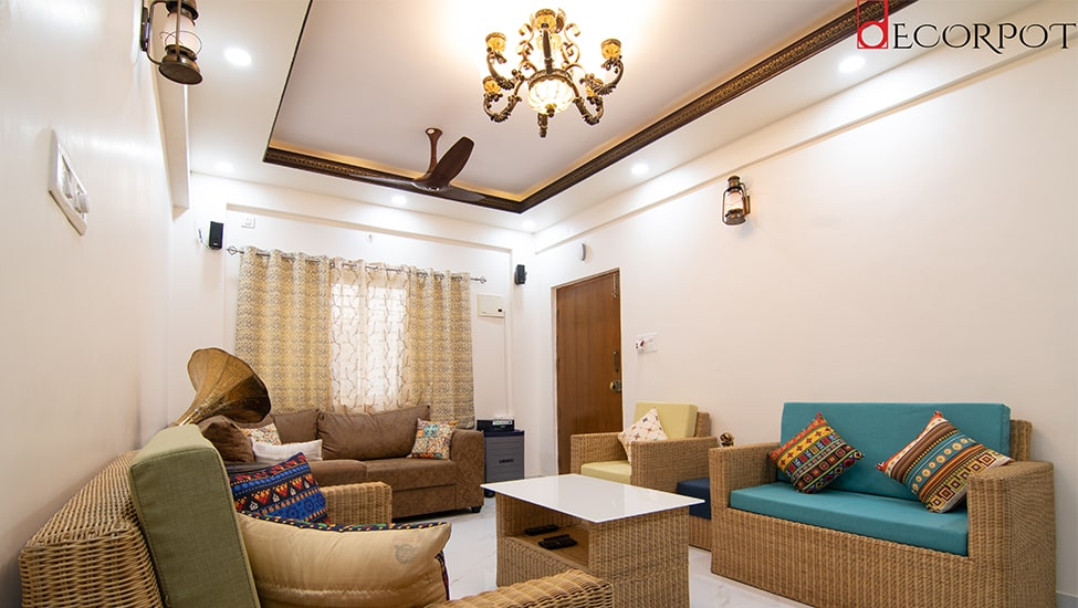 Best home interior designers in Bangalore - Glints of Cultural Heritage- A Decorpot project