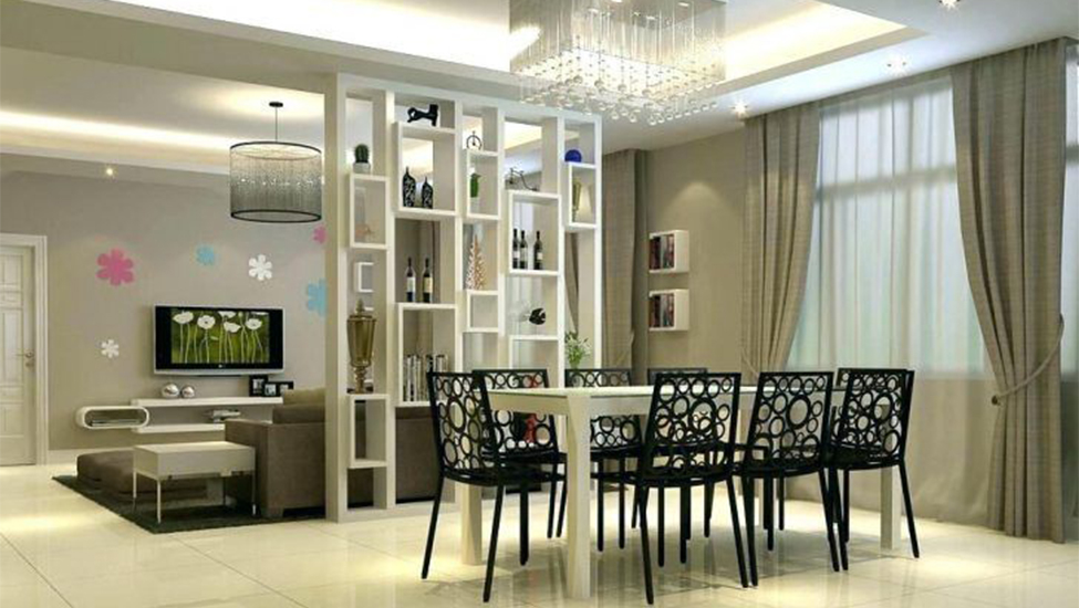 Beautiful Partition Designs For Living Room And Dining Hall