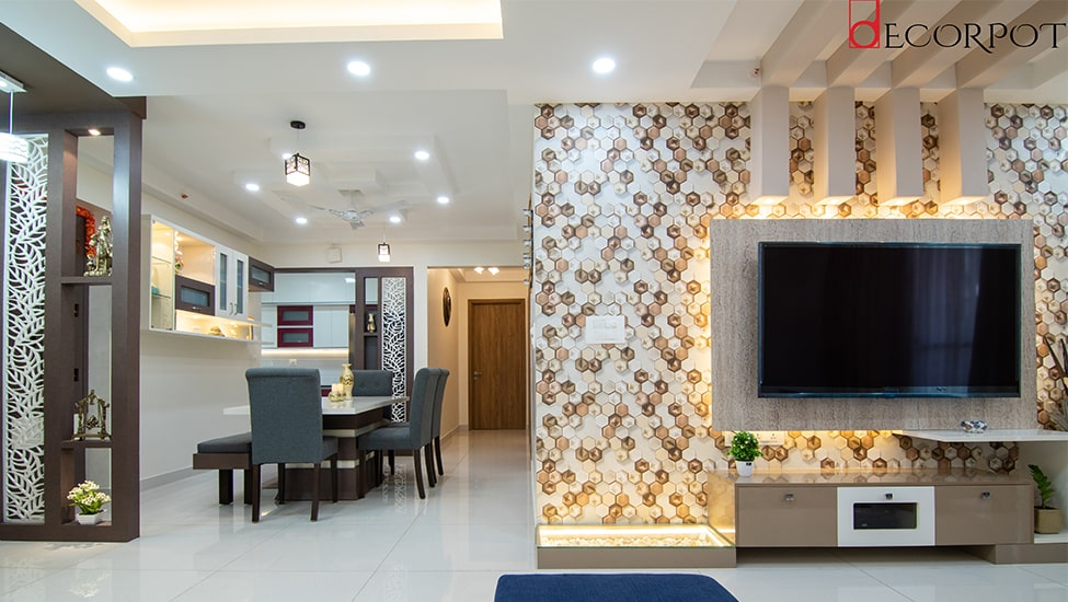 Best home interior designers in Bangalore - A Luxurious Delight - A design by Decorpot
