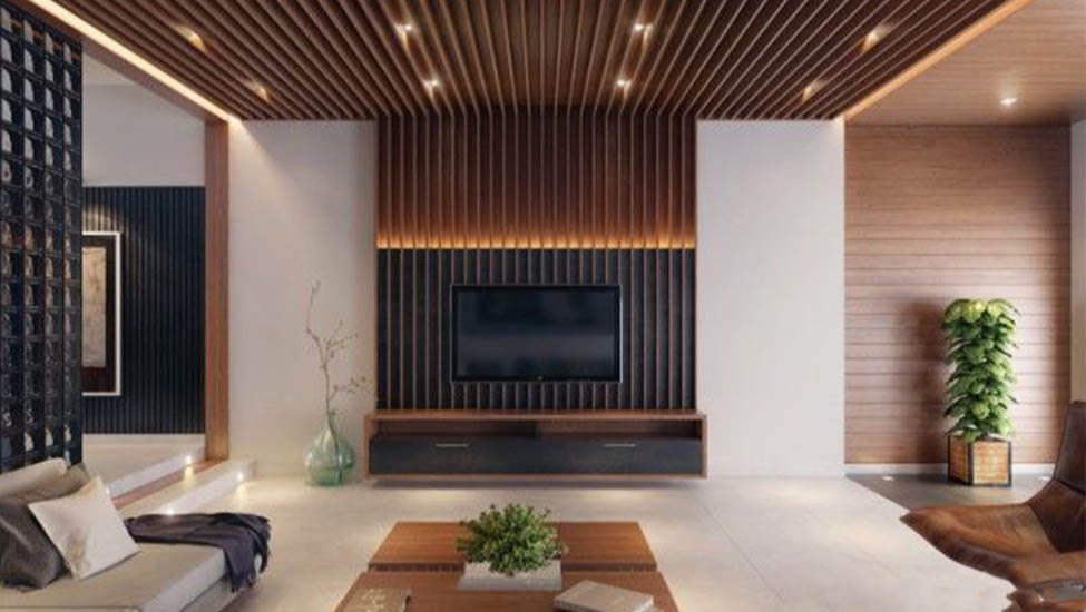 Home interior designer in Bangalore - 7 Fantabulous Ideas for Wooden Ceiling Designs from Urban to Rustic