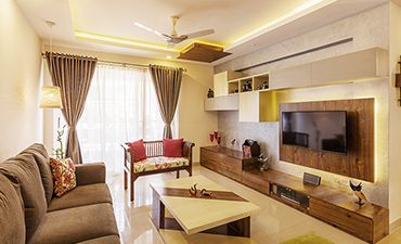 Living Interior designers in Whitefield