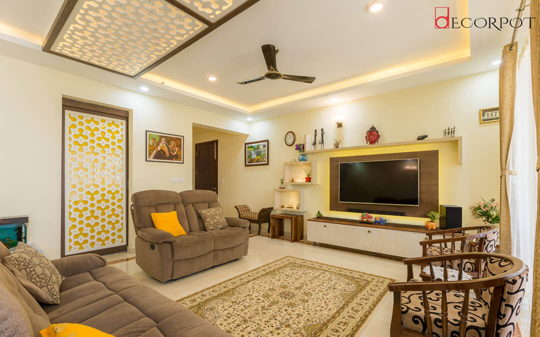 Best home interior designers in Bangalore - An artsy yet earthen abode!