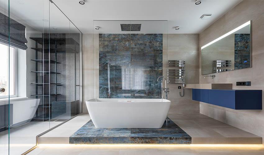 Bathroom in a Yacht