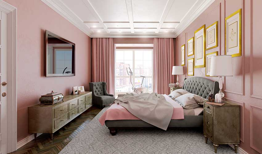 Embrace Pink Against the White