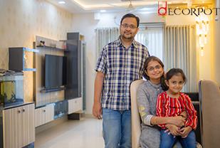 Home interior designers in Bangalore - Rendering Dreams - Home of Arpit & Madhuri