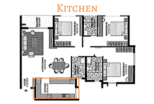 Home interior designers in Bangalore - Indian Interior Makeover Through Years The Kitchen