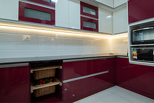 Home interior designers in Bangalore - Application Of Light In Modular Storages And Units