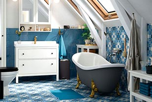 Home interior designers in Bangalore - Amazing Nautical Style Bathroom Design Ideas