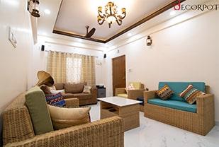 Home interior designers in Bangalore - Glints of Cultural Heritage- A Decorpot project