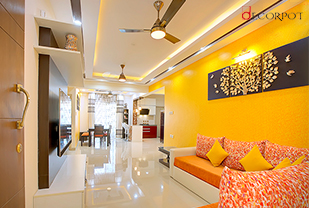 Home interior designers in Bangalore - A Decorhome that reflects the warmth of dreams