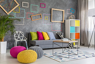 Home interior designers in Bangalore - Revitalizing Your Home With A Tinge Of Colour Therapy In Your Decor