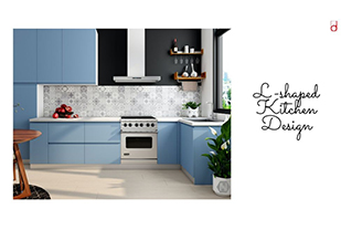 Home interior designers in Bangalore - Kitchen 101 - L-SHAPED KITCHEN