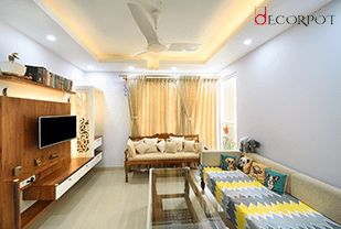 Home interior designers in Bangalore - A DISTINCTIVE BLEND