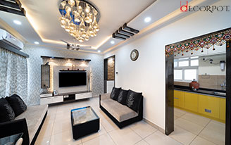 Home interior designers in Bangalore - A Tale of tranquil simplicity