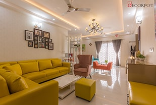 Home interior designers in Bangalore - HARMONY IN FUSION - A DECORPOT PROJECT