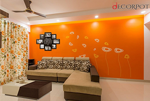 Home interior designers in Bangalore - A Home Close To The Clouds!