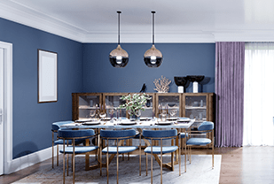 Home interior designers in Bangalore - COLOR THERAPY - THE DINING ROOM