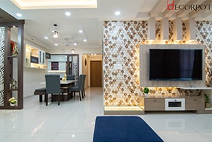 Home interior designers in Bangalore - A Luxurious Delight - A design by Decorpot
