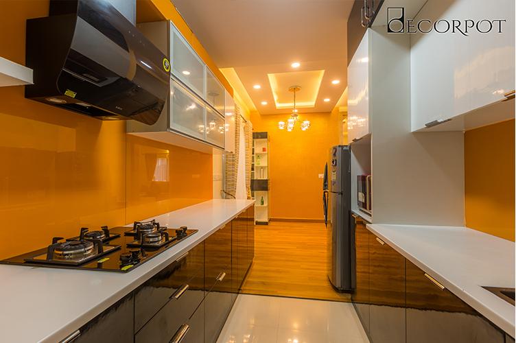 Interior Design Company In Kanakpura-Road-Kitchen 3BHK, Bangalore