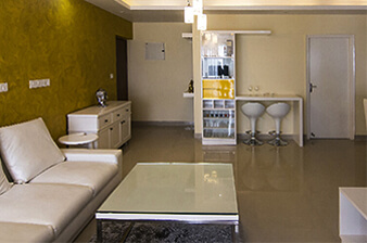 Best Interior Design Firm Bangalore-Bar Counter_Living-3BHK, Sarjapur Road, Bangalore