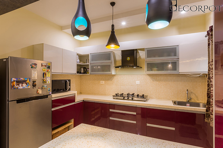 Modular Kitchen Interior Design-Kitchen-3BHK, Whitefield, Bangalore