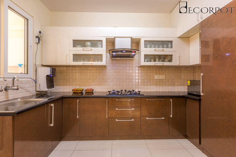 Modular Kitchen Interior Design-Kitchn-3BHK, Whitefield, Bangalore