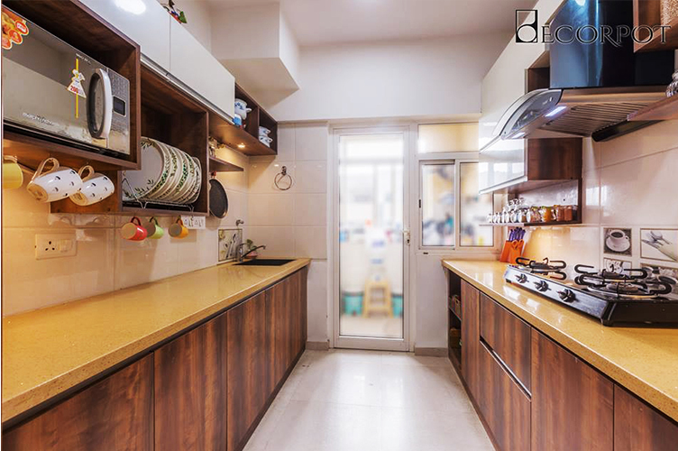 Parallel Modular Kitchen Interior Designs in Bangalore