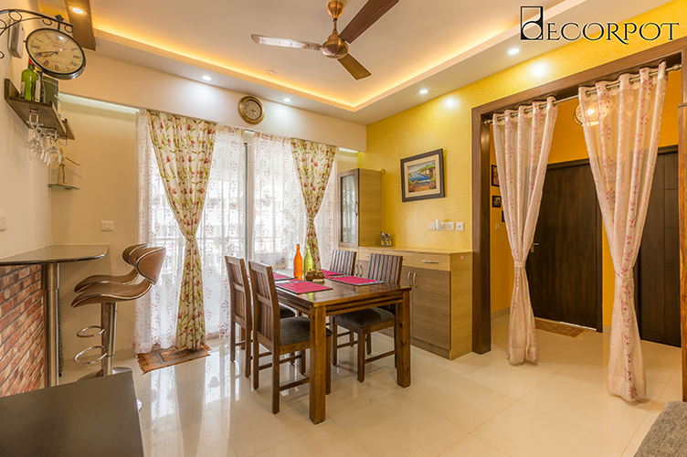 Dining Room Interior Design-dining-3BHK, Sarjapur Road, Bangalore