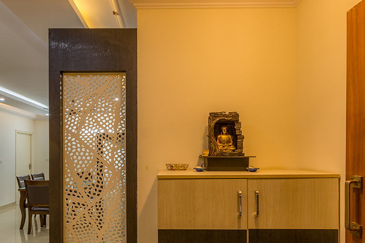 Foyer Area Interior Design-1.Foyer-3BHK, Sarjapur Road, Bangalore