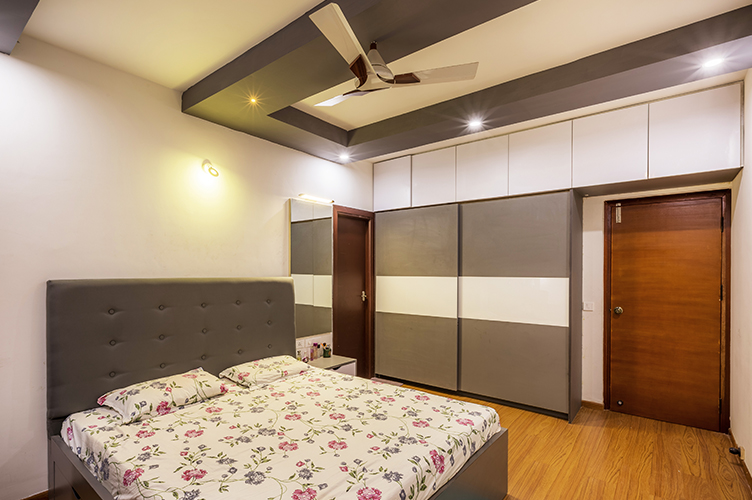 Sliding Door Wardrobe Designers-7.MBR 2-2BHK, Electronic City, Bangalore