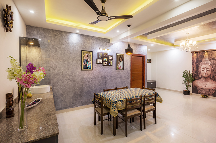 Best Interior Designers In Electronic-City-Dining-Room-3BHK, Bangalore