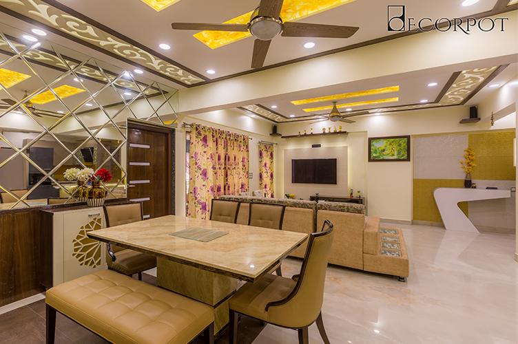 Interior Design HSR Layout-Dining-3BHK, Bangalore