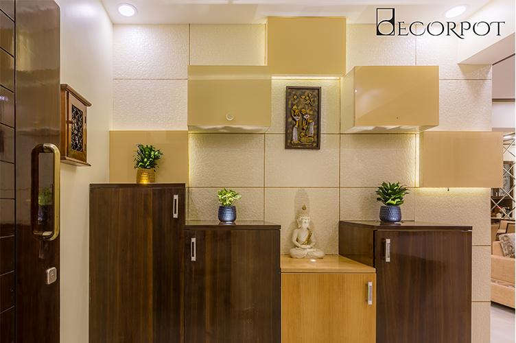 Interior Designers In HSR Layout-Foyer-3BHK, Bangalore