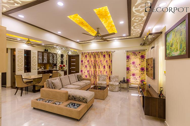 Interior Decorators In HSR Layout-Kitchen-3BHK, Bangalore
