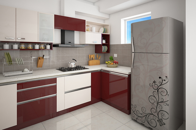 Interior Design Company In Marathahalli-Kitchen 3BHK, Bangalore