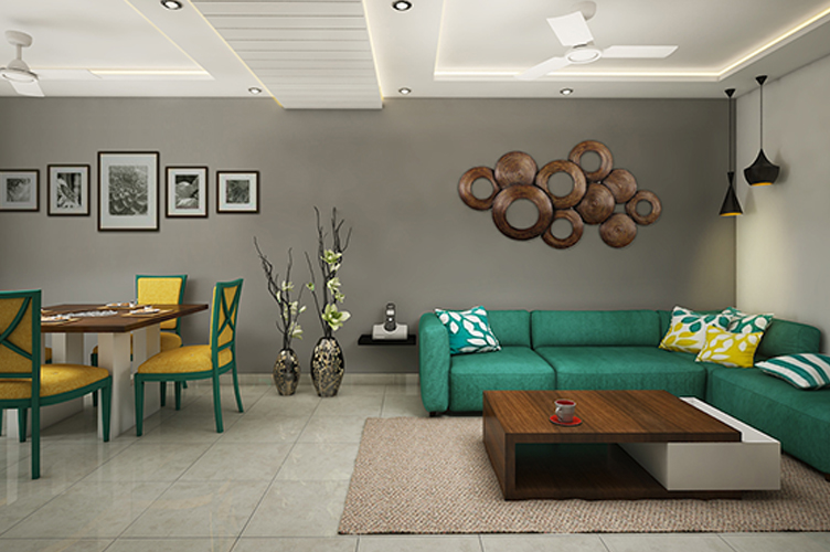 Interior Design Firm In Marathahalli-Living-Room 2-3BHK, Bangalore